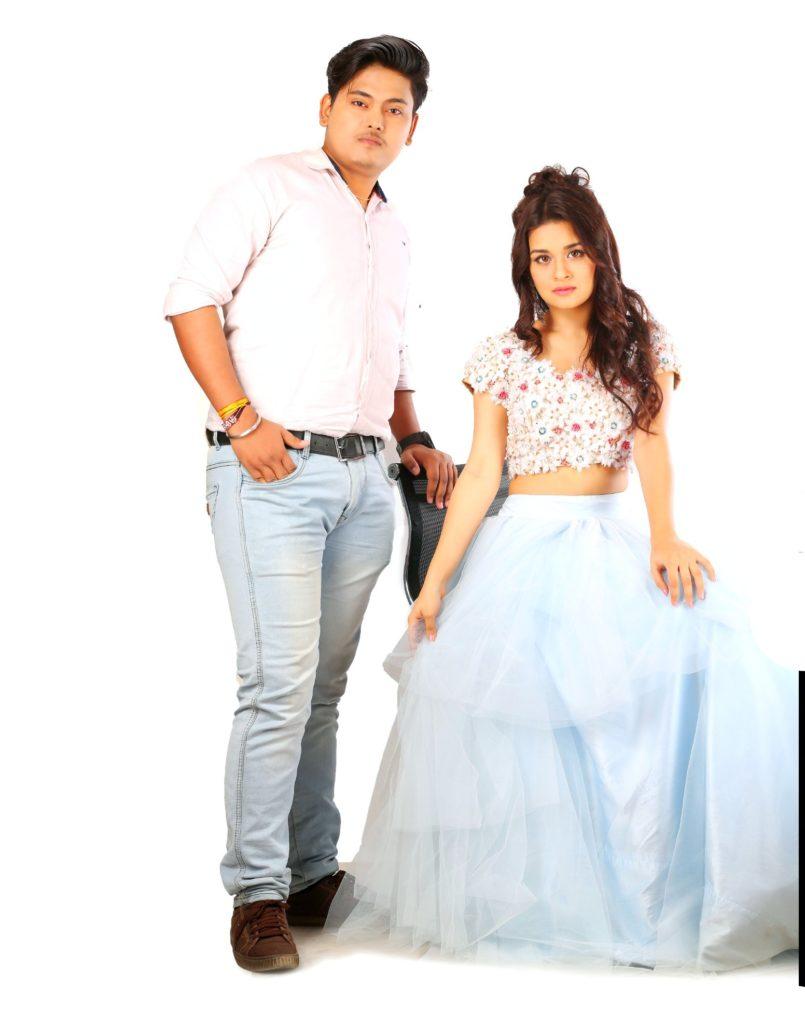 Prakash Jha with Avneet kaur (Pravneet)