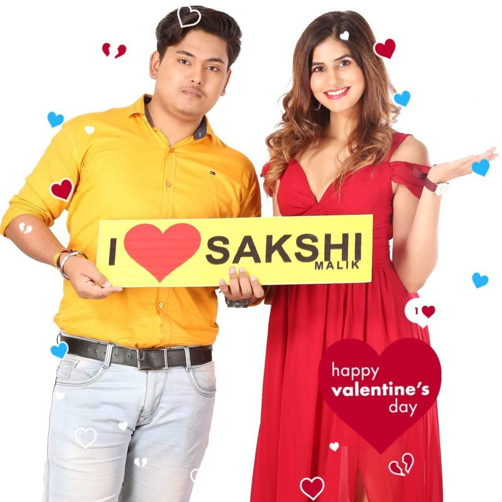 Prakash Jha with Sakshi Malik (Prakshi)