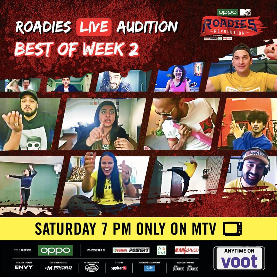 Mtv Roadies Revolution: Raftaar & Prince won stars on their badges