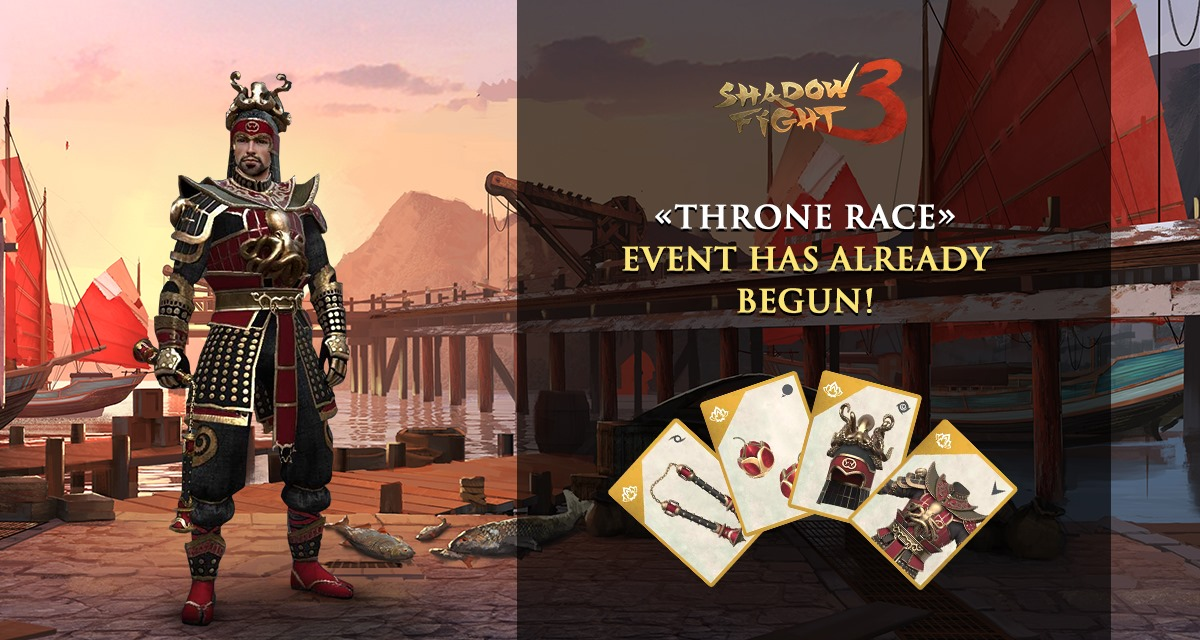 Shadow Fight 3 Throne Race event
