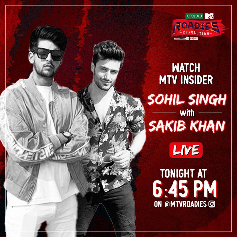 Watch MTV Roadies Insider: Sakib Khan with Sohail singh jhuti